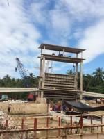 Tiếp tục xây dựng các công trình ngăn mặn tỉnh Bến Tre( Cống Cái Cau, Cái Bích
